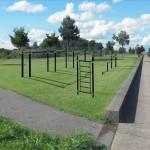"""Calisthenics park op stationsoverkapping: """"Speeltuin"""" voor volwassenen"""