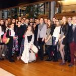 Tto-leerlingen Calvijn Groene Hart debatteren in Europese Parlement Straatsburg
