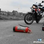 Gestolen brandblussers Maasstad Ziekenhuis gedumpt in Kooiwalbos: Diefjes (14 en 16) aangehouden