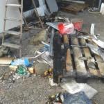 """Buurtbewoners Amaliaplantsoen blussen brand tegen schuur: """"Erger voorkomen"""""""