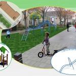 Nieuwe speelplekken Chopinstraat, Mozartstraat, Puccinistraat, Grondmolen en Korianderhof (Barendrecht)
