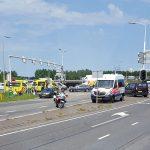 Veel vertraging door groot ongeval op kruispunt Dierensteinweg