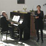 Duo piano en zang terug bij Barendrecht Klassiek in de Dorpskerk