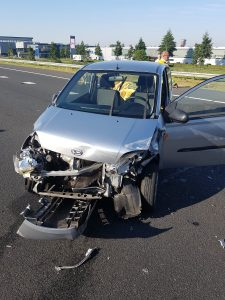 Weer ongeval op de A29: Geen gewonden, wel blikschade