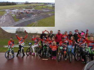 Bouw van nieuwe fietscrossbaan op sportpark De Doorbaak gestart