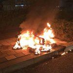 Bromfiets afgebrand bij bushalte aan de Donk