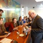 Burgemeester leidt uitwisselingsdebat Calvijn Groene Hart, Barendrecht