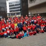 Jeugdleden CAV Energie vallen in de prijzen bij Kids Run Rotterdam