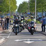 Deelnemers Hemelvaart Motorrit beleven zonovergoten rit