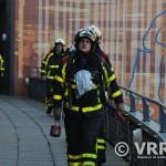 Vuurkorf oorzaak van brandmelding Carnisse Veste (Barendrecht)