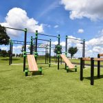 Calisthenics park station Barendrecht: Sporten & spelen voor iedereen