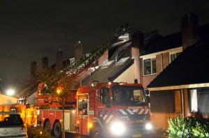 Schoorsteenbrandje in woning aan de Boeier in Barendrecht