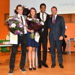 Felicitaties voor Cum Laude geslaagde VWO leerlingen Calvijn