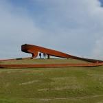 Kunstwerk Carnisselande wint nationale Staalprijs 2014 (Barendrecht)