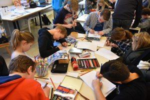 Open Huis bij Kunst Creatief in de Baerne