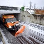 Ingezonden foto's: Op de valreep van het jaar sneeuw in Barendrecht