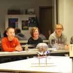 Examenkandidaten Calvijn bouwen quadcopter (Barendrecht)