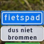 Wegwerkzaamheden: Verbreding fietspad Oude Maas en nieuw asfalt