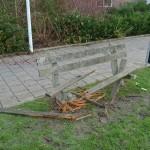 Vernieling oudjaarsdag 2014-2015 Barendrecht