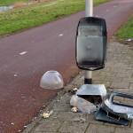 Vuurwerkvernieling Middeldijk (2014-2015)