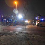 Voetganger aangereden door auto op zebrapad Bachlaan