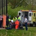 Kind van 2,5 jaar in sloot gevallen park Riederhoeve Barendrecht