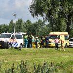 Man overleden bij waterongeval met scootmobiel in Kooiwalbos