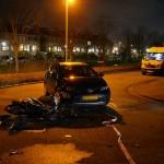 Scooterrijder gewond bij aanrijding met auto op de Harplaan in Barendrecht