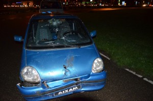 45km/u autootje betrokken bij ongeluk Kilweg (Kilpad) in Barendrecht