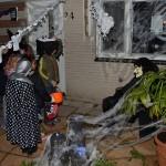 Halloweenoptocht bij het Griegplantsoen in Barendrecht
