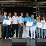 Vijf winnaars van Roparun-cheques