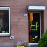 Frituurpan in brand aan de Albas in Barendrecht