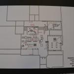 Tekeningen nieuwe bibliotheek Barendrecht in De Baerne