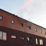 Zolderbrand in woning aan de Van Duin-Akker in Barendrecht