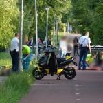 Jongen op BMX gewond na aanrijding met scooter op het Riederpad in Barendrecht