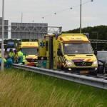 Meerdere gewonden bij aanrijding met drie auto's op de A29 bij Barendrecht
