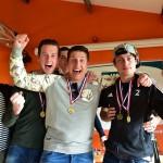 Zaalkampioenen Hockeyclub Barendrecht gehuldigd