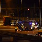 Vrachtautobrand op A15 Barendrecht veroorzaakt file