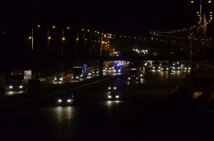 A15 Barendrecht, Avond