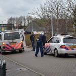 Man door politie aangehouden aan de Bachlaan / Brucknerstraat in Barendrecht