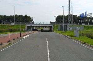 Openstelling onderdoorgang A29: Bussluis weg, rotonde erbij