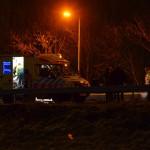 Ongeluk met drie auto's op de A29 in Barendrecht