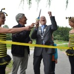 Officiële opening van vernieuwde Clara Kinderbos in Barendrecht