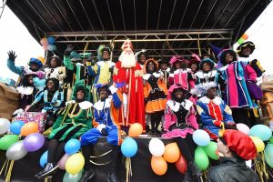 Feestelijke Sinterklaasintocht bij Carnisse Veste op het Havenhoofd 2016