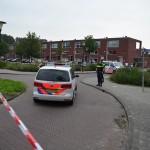 Grote politie inzet met helikopter na mishandeling Fuikkant in Barendrecht (Carnisselande)