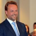 Nieuwe wethouder Leon van Noort (VVD) beëdigd