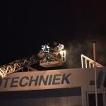 Gebouwbrand door kachel aan de Koopliedenweg in Barendrecht