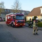 Brand achter stopcontact in woning aan de Concertweg in Barendrecht
