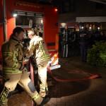 Schoorsteenbrand aan het Riederveld in Barendrecht (Carnisselande)