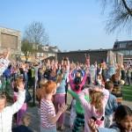 Koningsspelen 2015 op basisscholen in Barendrecht (Foto: Het Kompas)